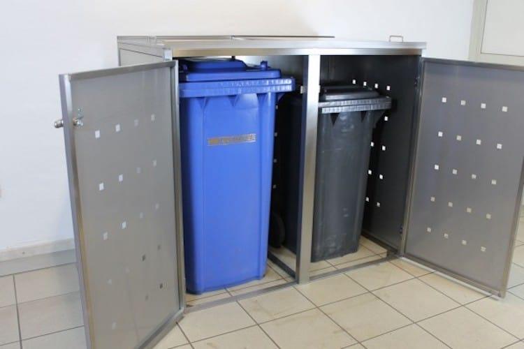 Runde Mülltonnen müssen weg