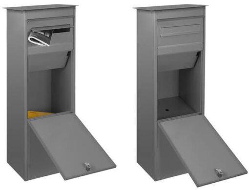 Paket-Briefkasten offen