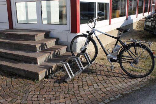 Fahrradständer mit Ebike
