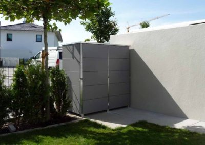 Mülltonnenbox Trash 2er
