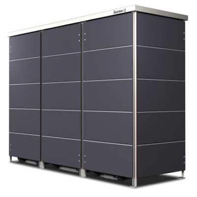 Mülltonnenboxen aus Edelstahl, Aluminium, Holz oder Kunststoff
