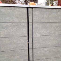 Mülltonnenbox Trash Blende