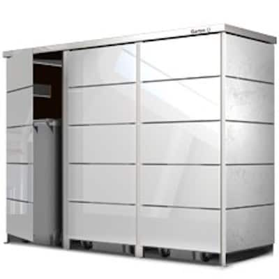 Mülltonnenbox Trash ESG Sicherheitsglas
