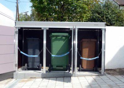 Mülltonnenbox Trash Kippvorrichtung