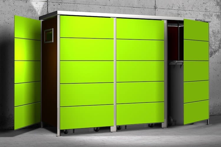 Mülltonnenbox HPL