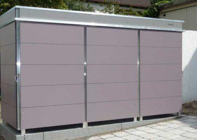 Mülltonnenbox Trash Mauve