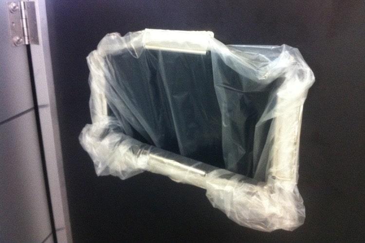 Mülltonnenbox Trash Müllsack