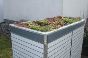 Paketbriefkasten Trash Pflanzdach