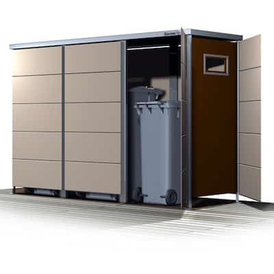 Mülltonnenbox Trash seitlicher Einwurf