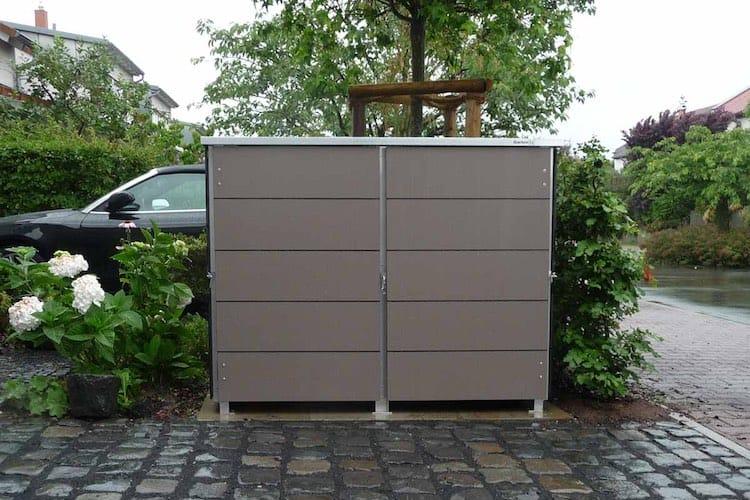 Mülltonnenbox Trash Taupe