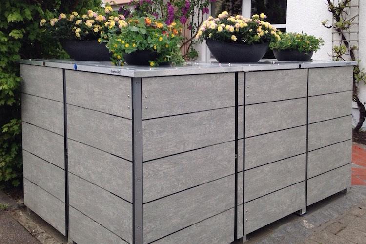Mülltonnenbox Trash Woodstone
