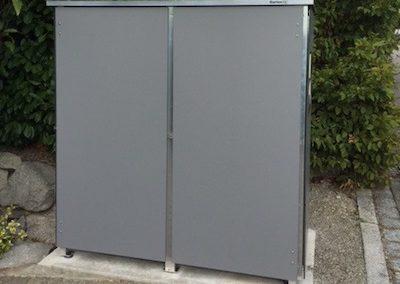 Mülltonnenbox Trash ganze Platte