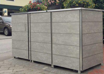 Paketbriefkasten Wood