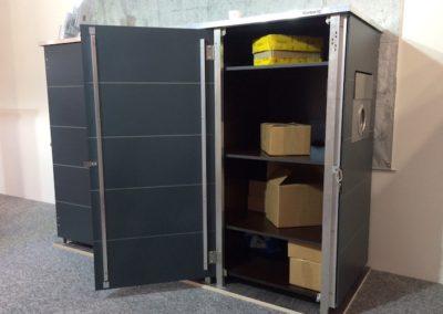 Paketbriefkasten offen