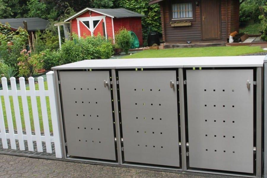 Jede Mülltonnenbox individuell für Sie gefertigt.