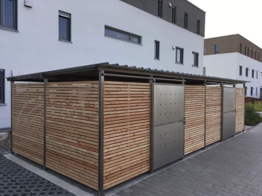 Mülltonnen-Haus