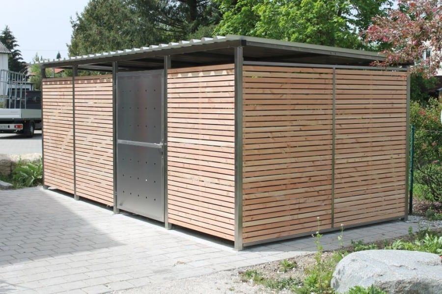 Mülltonnenverkleidung online - Mülltonnen-Haus kaufen
