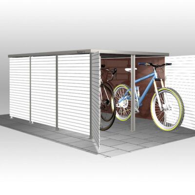 Fahrradbox HPL
