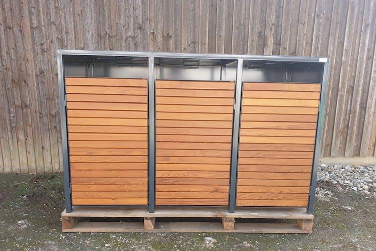 Metall Mülltonnenbox