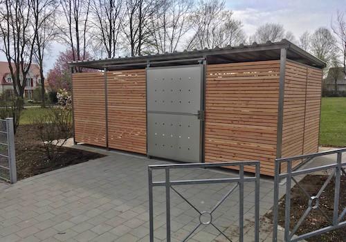 Mülltonnenhaus Douglasie Grösse 4