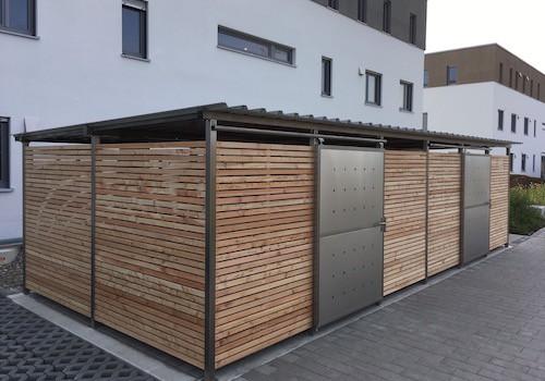 Mülltonnenhaus Douglasie Grösse 5