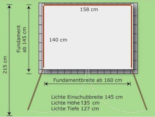 770 Liter Containerhaus