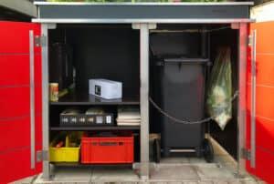 2er Mülltonnenbox Trash