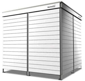 1100 Liter Containerbox schmale Streifen