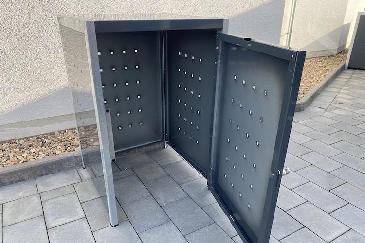 1er Mülltonnenbox Bausatz