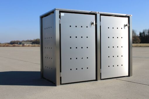 2er Müllcontainer