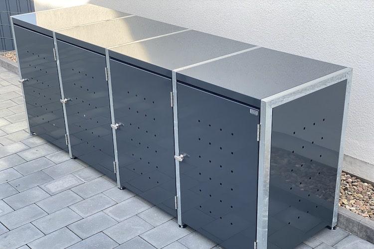 4er Mülltonnenbox Bausatz