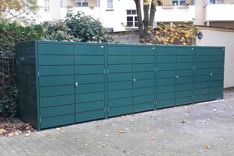 Containerbox für Müll