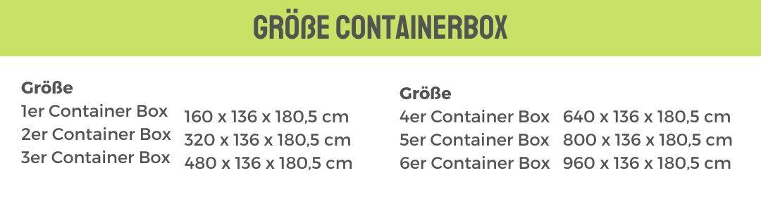 Maße Container Box Metall