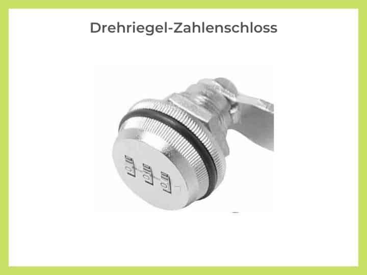 Drehriegel-Zahlenschloss