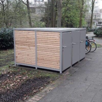 Fahrradbox 1 Fahrrad Holz