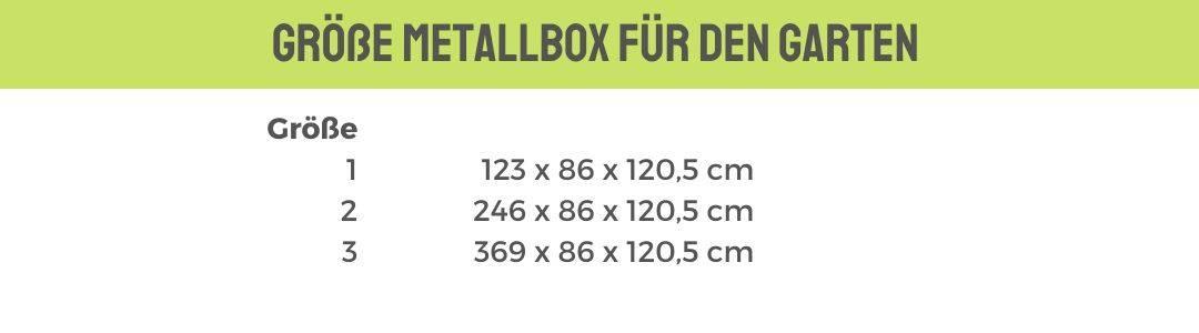 Größe Universalbox Metall günstig