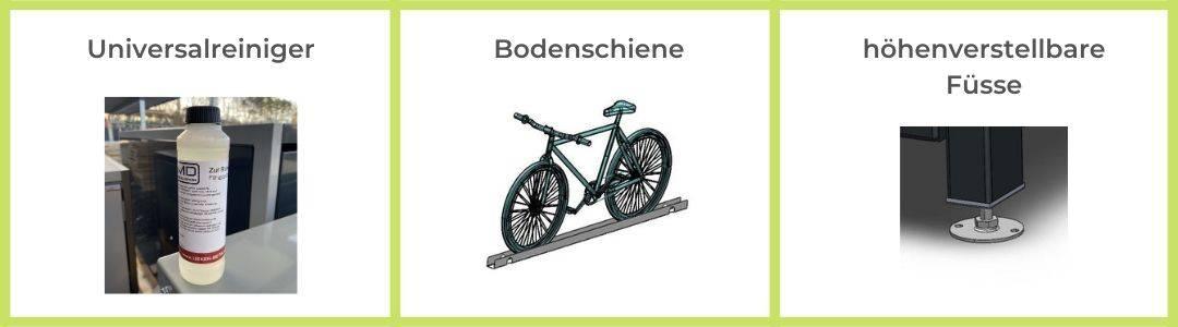 Zubehör Fahrradbox