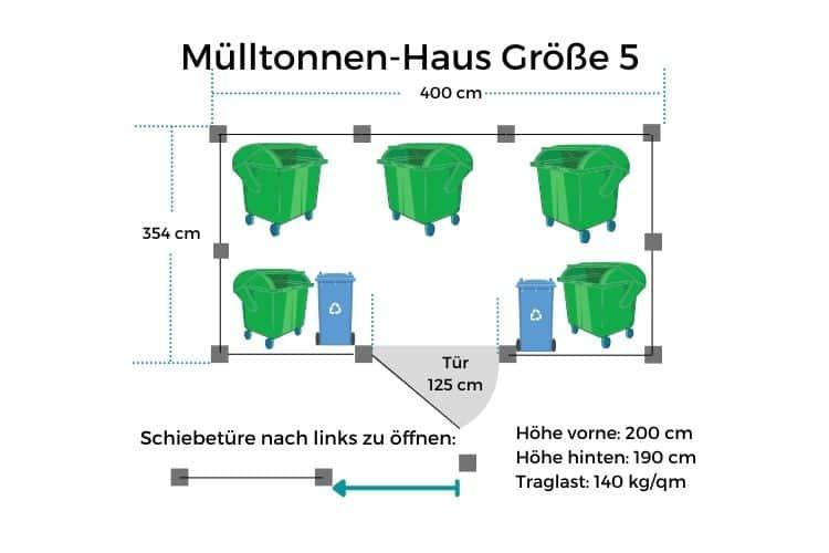 Mülltonnen-Haus GR5